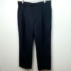 Brooks Brothers 1818 Madison Navy Blue Wool Pants
